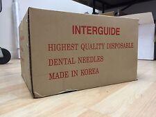 Dental Needles 27G Long (0.4 x 30 mm) - CASE OF 40 BOXES (4,000 pcs)