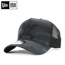 ONE PIECE × NEW ERA 9FORTY MESH CAP A-FRAME TRUCKER LUFY Camo Black Snapback