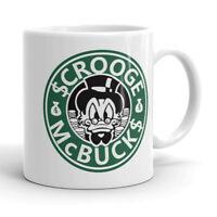 Scrooge McBucks McDuck Starbucks Coffee Mug Funny Mug Work Ceramics Tea Cup Mug