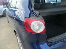 VW Golf plus passenger  tail light rear  2005 - 2009 outer