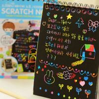 Gift Magic Drawing Kids Educational Toys Art Paint Scratch Paper Painting Book
