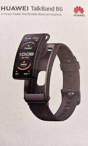 Huawei Talkband B6 Schwarz NEU OVP aus Deutschland Touch Bluetooth Fitness