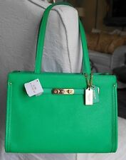NWT COACH SWAGGER TOTE IN POLISHED PEBBLE LEATHER 34915