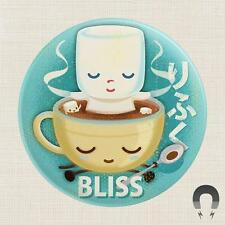 HOT COCOA BLISS MAGNET BADGE BOMB