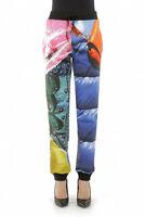 Moschino Editorials Woman's Jogging Multicolor Pants