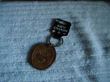 Kansas Jayhawks Leather Key Chain NEW WITH TAG