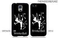 Disney Peter Pan Drinker Bell Tinkerbell Tinker bell Apple or Samsung Phone Case
