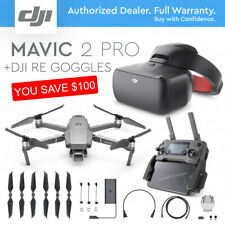 DJI MAVIC 2 PRO with 20MP HASSELBLAD Camera + DJI Re Racing Goggles.