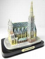 Viena Catedral de st Stephan Vienna Modelo Poli 13CM Recuerdo Austria