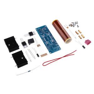 Bausatz: Mini Tesla Spule Musik Lautsprecher Transformator 15-24V 15W zum Löten