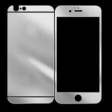 Premium HD Tempered Glass Protector for Apple iPhone 5 5S Front and Back Silver