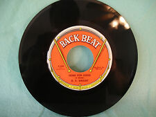 O.V. Wright, Gone For Good / How Long Baby, Back Beat 558, 1966 Soul, Blues, R&B