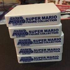 Banpresto Nintendo SUPER MARIO Figure Base Stand Set of 5