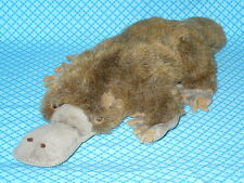 "Fiesta Realistic DUCK BILLED PLATYPUS Plush Stuffed Animal 18"" long RARE!"