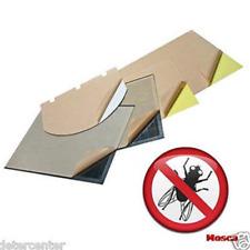 Piastre collanti insetticida trappola luminosa Fly-Tec lampada conf. 12 pezzi.
