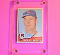 1965 Topps Dick Ellsworth Card #165 Nm-Mt NmMt Chicago Cubs