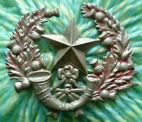WW1 Cameronian Scottish Rifles Cap Badge WM 2 Lugs ANTIQUE Original