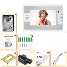 "7"" LCD Video Door Phone Doorbell Home Entry Intercom System Security Camera Cam"