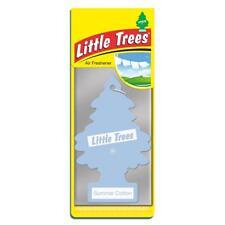 4 X Piccolo Magic Tree Deodorante Auto Estate Cotone Freshner 2D
