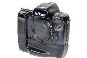 EXCELLENT Nikon F90X / N90S 35mm SLR Film Camera Body + MB-10 Battery Grip