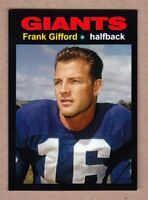 Frank Gifford '57 New York Giants Monarch Corona Glory Days #26 in NM cond.