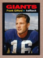 Frank Gifford '57 New York Giants Monarch Corona Glory Days #26 in mint cond.