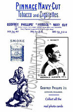 ROCHDALE HORNETS Rugby League - Pinnace 1920's repro advertising cards