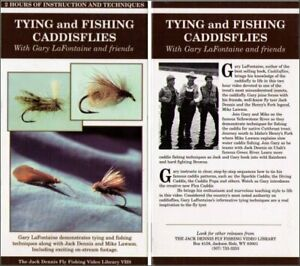Jack Dennis Tying and Fishing Caddisflies VHS - (Instruction and Techniques)