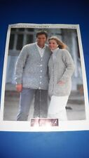 Hayfield Adult Cardigans Knitting Pattern 4367