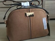 826548897 RIVER ISLAND tan brown CROSSBODY BAG new WITH TAGS