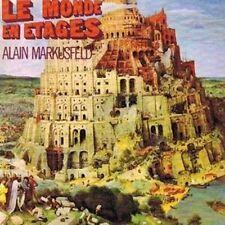 "Alain MARKUSFELD: ""le MONDE EN ETAGES"" (CD)"