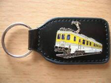 Porte-clés Autorail Locomotive électrique ELECTRIQUE messwagen jaune/blanc 6314