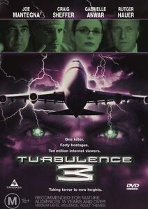 TURBULENCE 3 Three DVD Rutger Hauer Movie