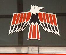 67, 68, 69 Firebird Chrome Small  Window, Body Decals 1.75 x 2.5 inches