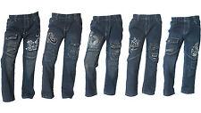 Neue CooLe Jungen Jeans Hosen 3 - 5st. Gummizug gr 98-158 Kinderhosen Paket Neu