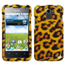For MetroPCS Huawei Premia M931 HARD Protector Case Snap On Phone Cover Leopard