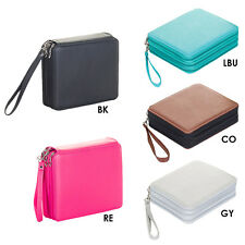 120 Large Slots PU Leather Pencil Holder Case Capacity Multi-layer Pencil Bag