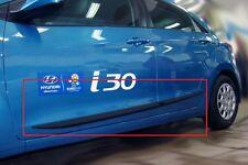Body Side Mouldings Door Molding Protector Trim 4 pcs Fit Hyundai i30 5d 2013-