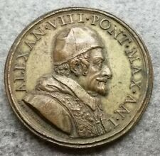 Medaglia Vaticano Alessandro VIII 1689 Madonna Prigioneri 24,25gr 40mm