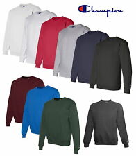 Champion Men's Crewneck Eco Fleece Pullover Sweatshirt S600 - Choose Size &