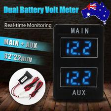 AU Dual Battery Volt Meter Fit Toyota Landcruiser 200, Prado 150, 2016 HILUX New