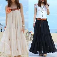 AU SELLER Women's Chiffon Beach Skirt Tube Top Dress 2 in 1 Convertible dr080