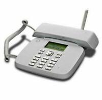 Telefono Fisso con SIM slot GSM per anziani da tavolo casa filo vodafone classic