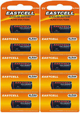 ☀️☀️☀️☀️☀️ 10x 4LR44 6V(2Blister a5 Batterien)PX28,4G13,476A,L1325 EASTCELL