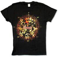 Slipknot Clown Black T Shirt Logo On Back New Official