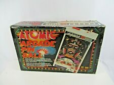 TOMY Atomic Arcade Pinball Japan VTG 1979 Complete in Box Battery Op Tabletop