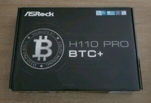 NEW Motherboard Asrock h110 Pro BTC+.
