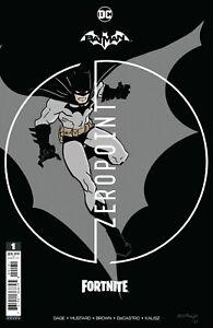 BATMAN FORTNITE ZERO POINT #1 PREMIUM VARIANT INCLUDES GAME CODE (20/04/2021)
