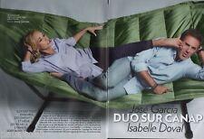 Coupure de presse Clipping 2013 José Garcia Isabelle Doval  (4 pages)