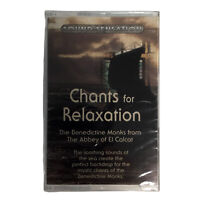 Chants For Relaxation The Benedictine Monks 1995 Cassette Tape Sealed